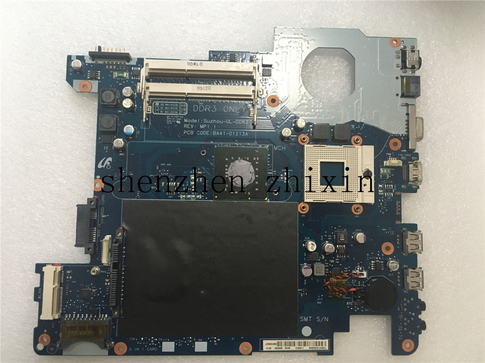 Free Shipping!For Samsung R430 Laptop Motherboard BA92-06068A BA92-06068B mainboard Fully tested  notebook motherboard for samsung np550 np550p5c n13p gt a2 gt650m ba92 09094a ba41 01898a tested ok free shipping