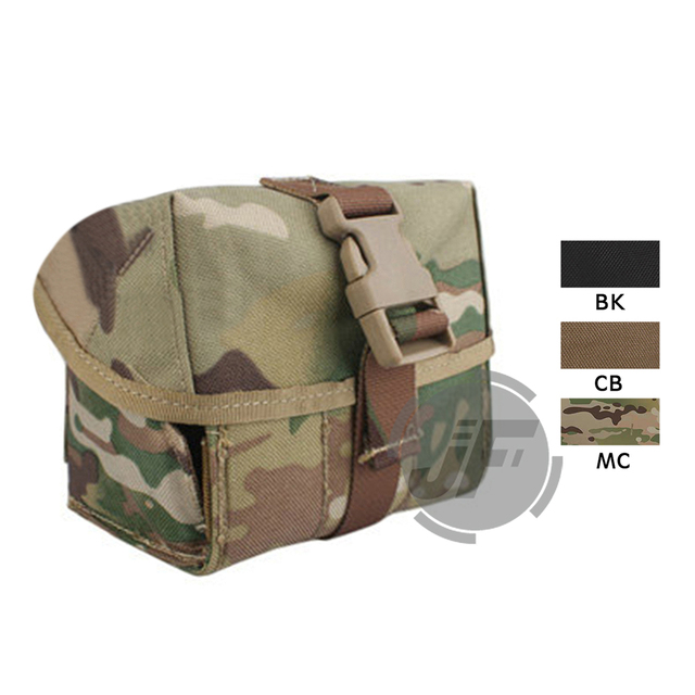Details about GREEN Airsoft 40mm MOLLE M203 Grenade Pouch for CA