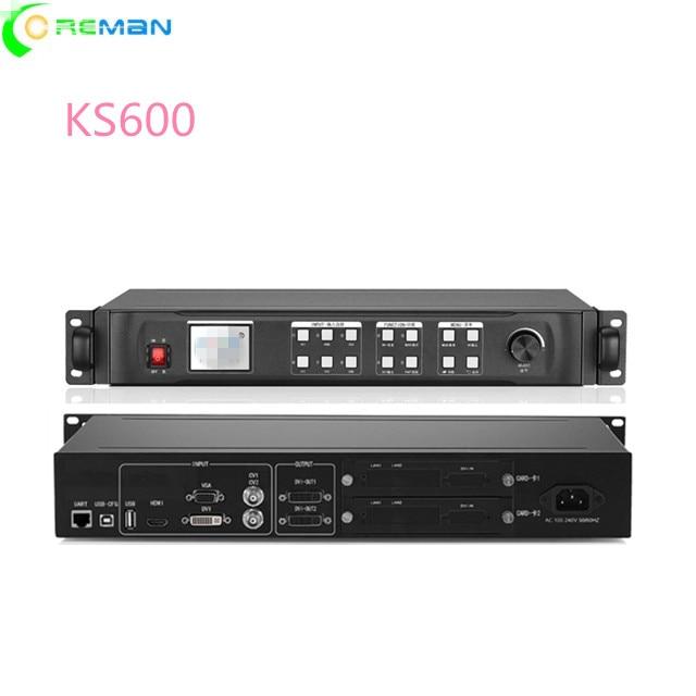 Big discount video wall processor KS600 P2P1 2P1 3P1 5P1 6P1 8P1 9 indoor led screen