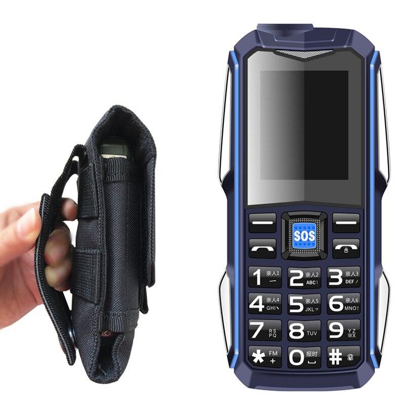 Funda regalo banco de energía teléfono móvil SOS sonido fuerte mp3 linterna bluetooth Voz Mágica a prueba de golpes teléfonos móviles teclado ruso LEAGOO potencia 2 2GB 16GB teléfono móvil Android 8,1 de 5,0
