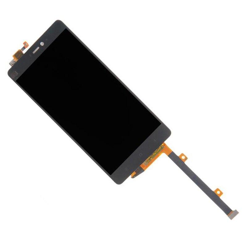 Assemblée d'affichage à cristaux liquides avec l'assemblage de numériseur d'écran tactile pour Xiao mi 4i 5 pouces LCD pour Xiao mi 4i écran capacitif noir