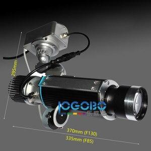 Бесплатная доставка 20 Вт Led Gobo прожекторы движущиеся маленькие портативные прожекторы DJ освещение для рекламы, свадьбы, мероприятий, вечери...