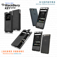 Original Blackberry KEYone Smart On/off Flip Phone Case Cover for Blackebrry DTEK70 Business Flip View Window Bag Soft shell