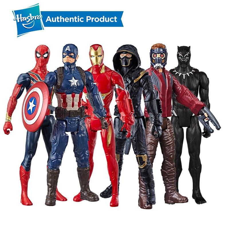 Galleria fotografica Hasbro Marvel Avengers Endgame Titan Hero Series Iron Man 12-Inch Super Hero Action Figure Toy with Titan Hero Power FX Port