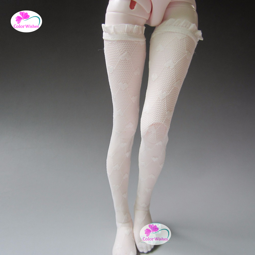 Doll Accessories fashion Long tube stockings fits1/3 1/4 1/6 BJD doll fashion sweater for bjd 1 3 1 4 uncle doll clothes accessories 4 colors