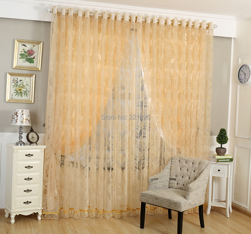 floral cortinas para sala cortina de tule pano cego sheer voile with estores para bao