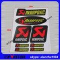 3M 8 Pieces Akrapovic Exhaust Muffler Decal  Waterproof Car Sticker Motorcycle Decals For  Moto Gp KTM CRF YZF KLX KXF RMZ CBR