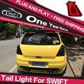 AKD Car Styling Rear Lamp for Suzuki Swift Tail light LED Taillight LED DRL Brake Park Signal Turn light Stop Lamp Guide