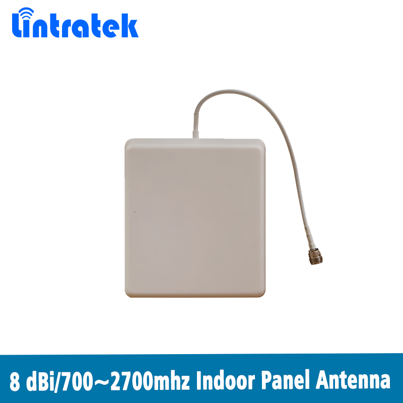 700-2700mhz Indoor Panel antenna 2G 3G 4G indoor Antenna for GSM WCDMA CDMA DCS PCS LTE 2600 Mobile Signal Repeater