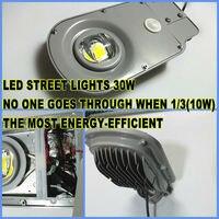 30W LED graden light LED street light waterproof IP65 sensor motion PIR LED control / microwave sensor sensing led outdoor light