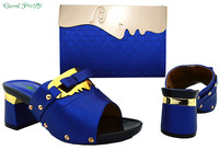 Fashion African Shoe And Bag Set For Party Italian Shoe With Matching Bag New Design Ladies