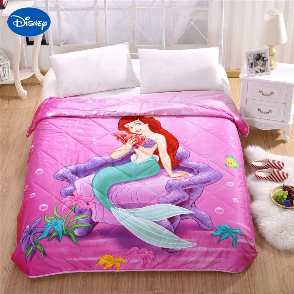 Disney Character Ariel Mermaid Princess Print Summer