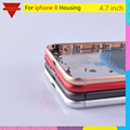 10pcs New Rear Body For Apple Iphone 8 8G Back Housing Cover Original Glass OEM Quality Chassis Middle Frame With Sim Tray