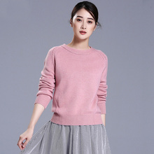 5 colors 100% pure cashmere pullovers O-neck full sleeve soft warm sweaters women winter outwear clothing