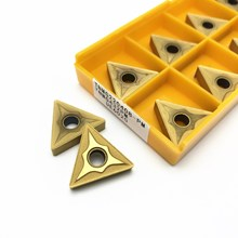 10Pcs CNC Milling Inserts TNMG220408 PM Carbide Inserts Milling Tools Woodworking Turning Tools Turning Tools TNMG 220408