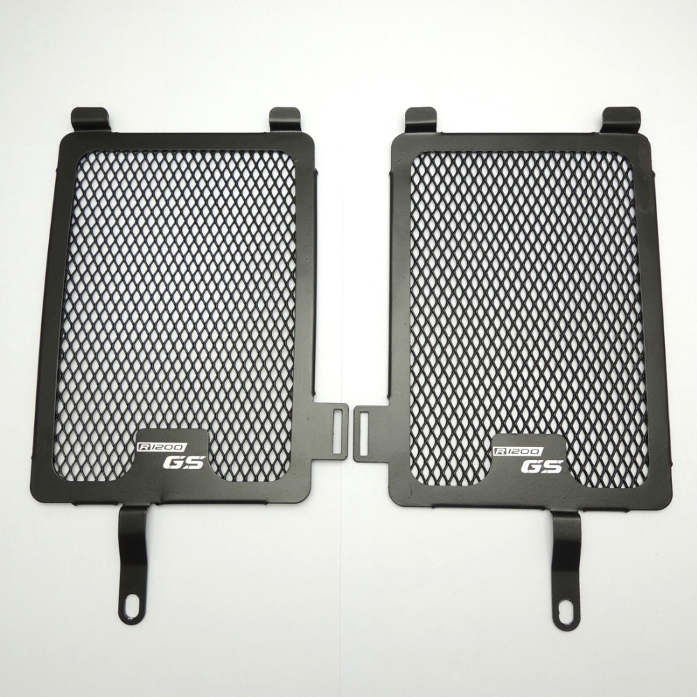 ФОТО Radiator Guard Cover For BMW R1200GS Models 2013 2014 Radiator Oil Cooler Protector Grille