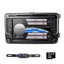 Hizpo 7 дюймов 2Din в тире Автомобильный навигатор для Volkswangen Amarok 2010 2011 2012 2013 Caddy Golf V/VI/Plus/кабриолет/Wagon/R радио