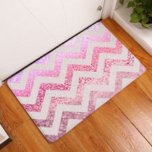 Waves Shining Diamond Rugs Kitchen Anti Fatigue Mat,Comfort Floor Mats,Standing Desk Mats Anti slip Runner Area Rug for Kitchen