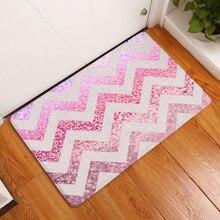 Wellen Glänzende Diamant Teppiche Küche Anti Müdigkeit Matte, Komfort Boden Matten, stehend Schreibtisch Matten Anti slip Runner Bereich Teppich für Küche