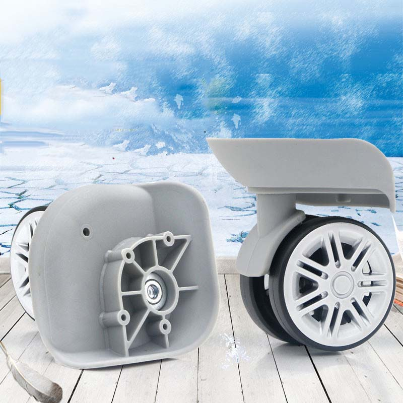 2pcs Travel Bags Replacement Luggage Suitcase Wheels Left&Right Universal Wheels 2pcs pairing left