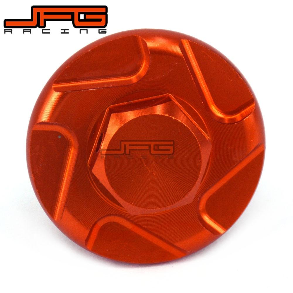 Orange CNC Billet Oil Filler Plug For KTM SX XC EXC SMR 50 85 125 250 300 350 400 450 ALL MODELS Dirt Bike Motocross