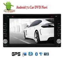 EinCar Android 7.1 FM/AM Radio Stereo Double 2 Din  GPS Navigation Bluetooth USB SD 2GB+32GB Memory in dash Car DVD CD Player