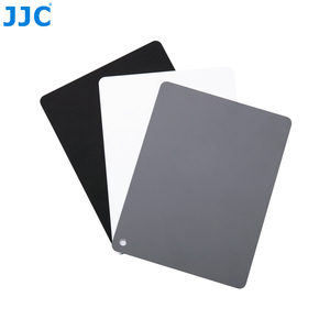 Image 3 - JJC Camera White Balance Accurate 3 in 1Color Balancing Tool With Neck Strap 130x100x24mm Digital Grey Card for Canon/Nikon/Sony