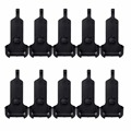 10pcs Walkie Talkie Belt Clip For Retevis RT22/WLN KD-C1 Two Way Portable Radio J9121T