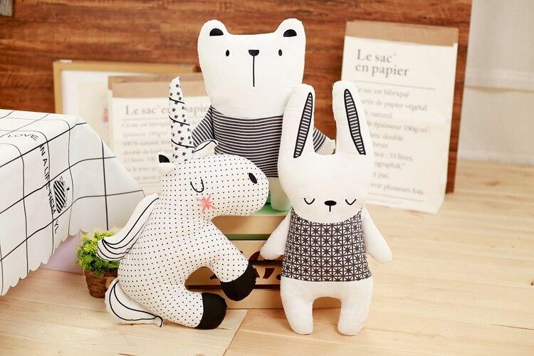 animados brinquedo do Urso Coelho tecidos de