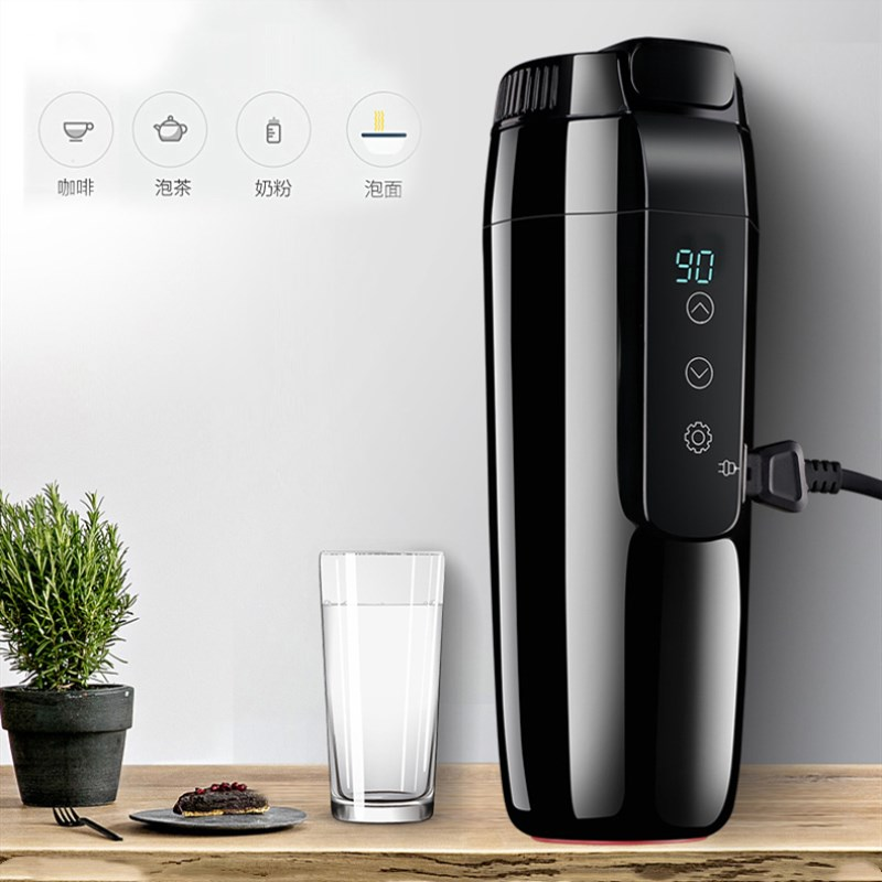 350ML Car Heating Cup Electric Kettle Mug Auto Heating Cup 12V Coffee Thermal Heater Cups Temperature