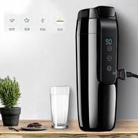 350ML Car Heating Cup Electric Kettle Mug Auto Heating Cup 12V Coffee Thermal Heater Cups Temperature Boiling Water Bottle
