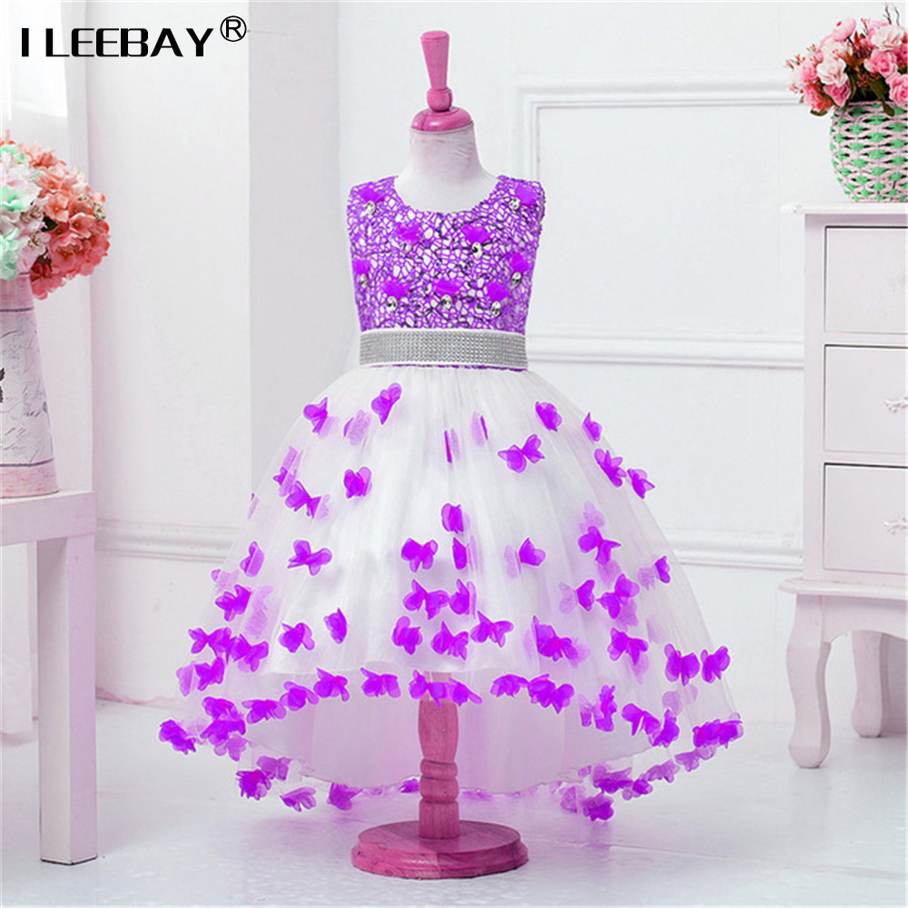 2018 Top Quality Princess Dress for Little Girl Long Dresses Sequins Ceremonies Wedding Gown Dress Flower Girl Vestido Nina Rose nina stefanovich tale about littleworm book for kids