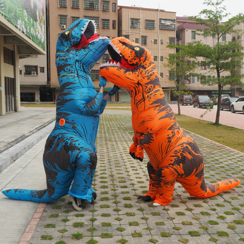 halloween costumes Dinosaur cosplay costume Inflated Garment Tyrannosaurus Rex anime  halloween costumes for men adult