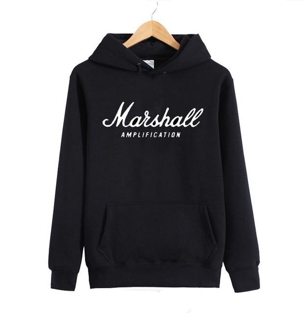 EMINEM The Marshall Mathers LP Hoodies Amps Amplification Guitar Hero Hard Rock Cafe Music Muse Men Women Hoody Sweatshirts