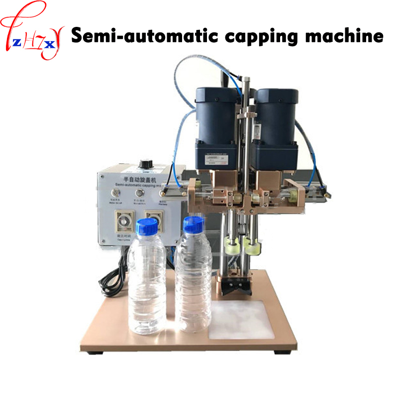 1PC TD SGL Semi automatic locking capping machine 0.4 0.6Mpa housewares bottle lock lid machine 110/220V