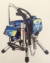 Profesional Eléctrica máquina motor sin escobillas bomba de pistón Pistón sin aire de pintura airless paint Sprayer ULTRA590