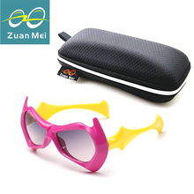 Zuan mei niños gafas de sol niños pequeño diablo gafas de sol para bebés niñas Gafas de los niños Gafas De Sol Para Niños Gafas de Sol Niños ZM6132