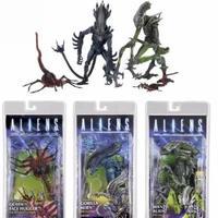 Alien Queen Face Hugger Predator Action & Toy Figures Pvc Model Collection For Baby Girls Kids Lover Children Christmas Gift