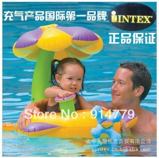 Free shipping 2013 child seat daisychains sunshade float water floating ring baby swimming circle wholesale