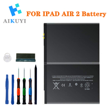 Replacement Battery Compatible with Apple iPad Air 2 A1547 6th A1566, A1567 Complete Repair Tools Kit 7340mAh