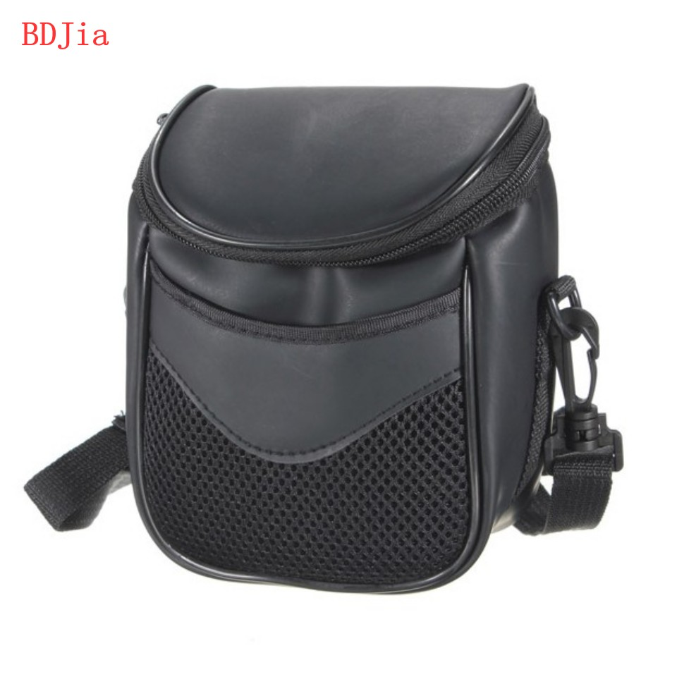 leather Camera Cover Case Bag for Nikon P610S P600 P530 P520 P510 P500 L840 L830 L820 L810 L330 L320 With Strap