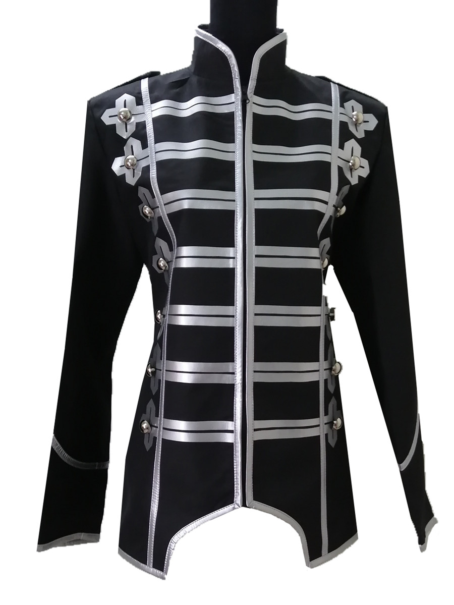 My Chemical Romance Jacket Cosplay Costume Halloween Punk Coat