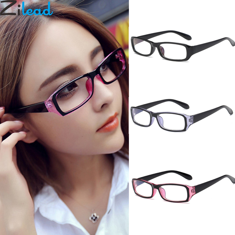 88cab547a43 Zilead Anti-blue Light Myopia Glasses Women Men Nearsighted Glasses  Short-sight With Degree-1.0-1.5-2.0-2.5-3.0-3.5-4.0