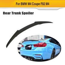 Задний спойлер багажника автомобиля крыло губы для BMW F82 M4- углеродного волокна задний багажник губы