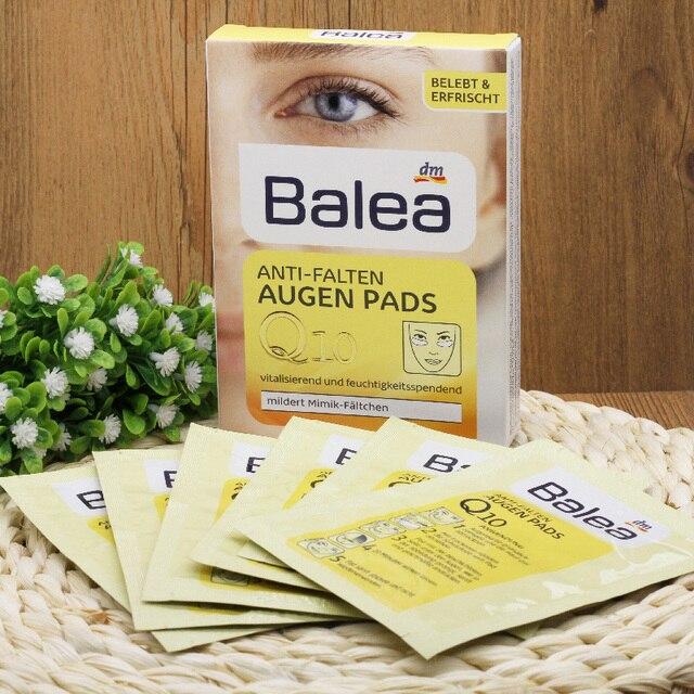 Германия Balea Q10 Анти-falten Augen Pad Anti-Aging eye mask Увлажняющая маска для глаз уход за глазами уход за кожей повысить упругость кожи