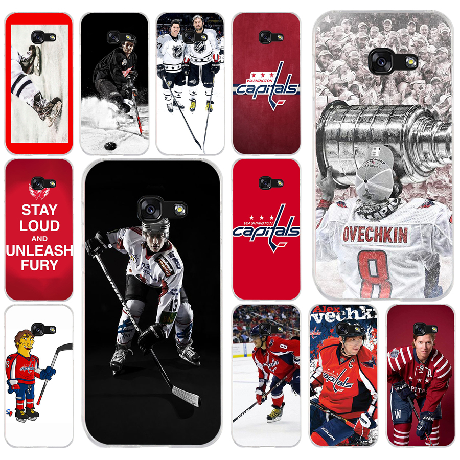 182FG Ice Hockey Alexander Ovechkin Soft Silicone Tpu Cover phone Case for Samsung a3 2016 a5 2017 a6 plus a7 a8 2018 s6 7 8 9(China)