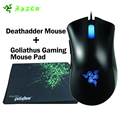 Razer Deathadder Ratón 3500 DPI Gaming Mouse + Razer Goliathus Gaming Mouse Pad 320mm x 240mm x 3mm USB Wired Optical Gaming Mouse