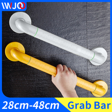 Safety Handrail Stainless Steel Bathroom Grab Bars for Elderly Disabled Anti-slip Shower Bathtub Handle Wall Mounted Towel Rack adjustable size fourth generation toilet armrest for the elderly and disabled closestool safety handrail non slip