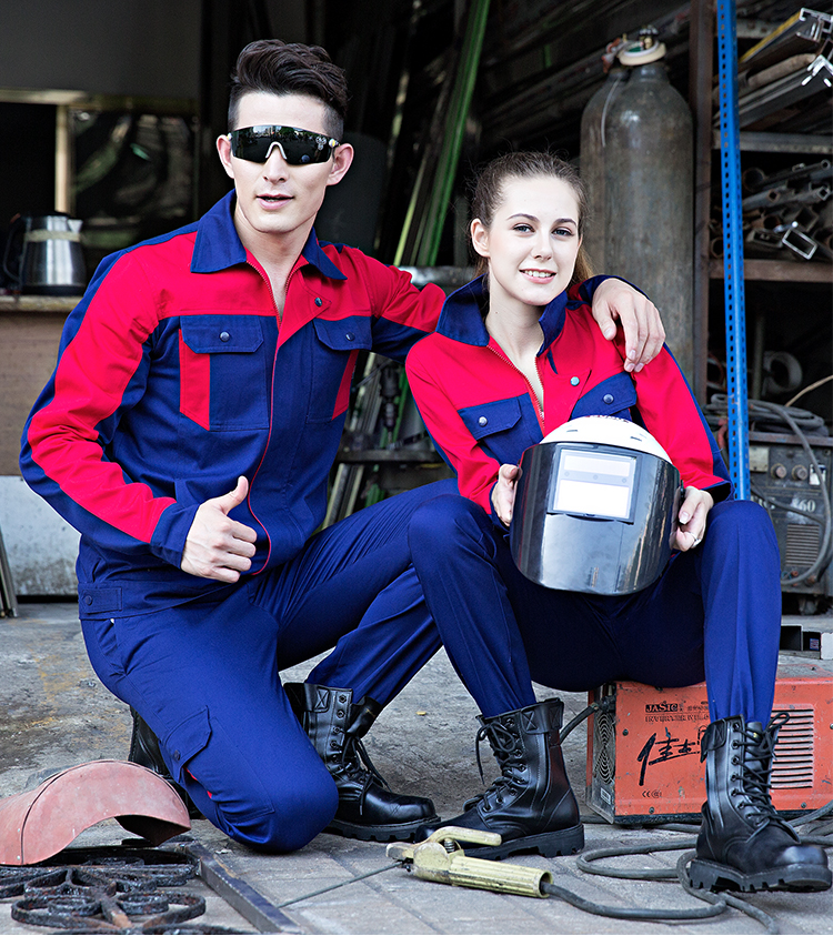 100% Cotton Work Clothing Men Women Working Coveralls Auto Repair Car Worker Uniforms Thick Anti-scalding Welding Overalls S-4XL