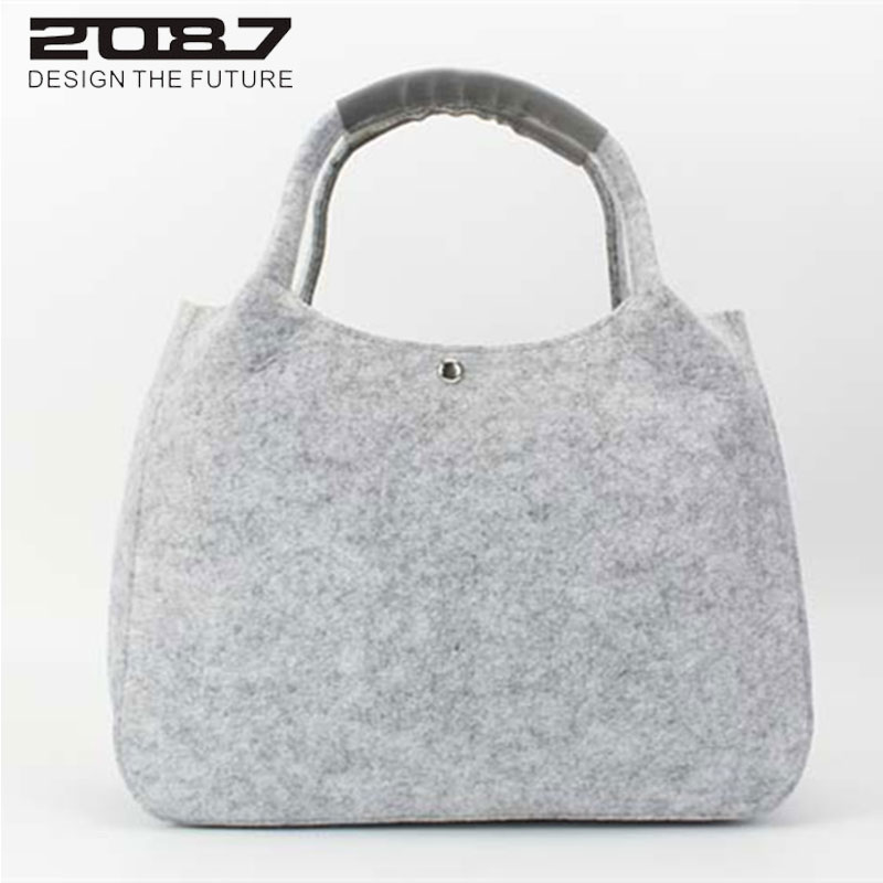 Great Value!Brand New designer Felt women bag,Casual shop shoulder bags,quality